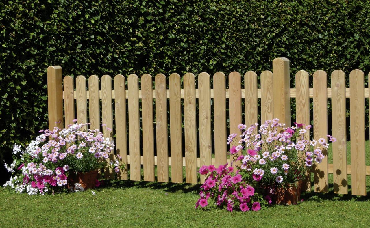 Gartenzäune - Holzland Dostler - Holz für Bau, Ausbau und Garten