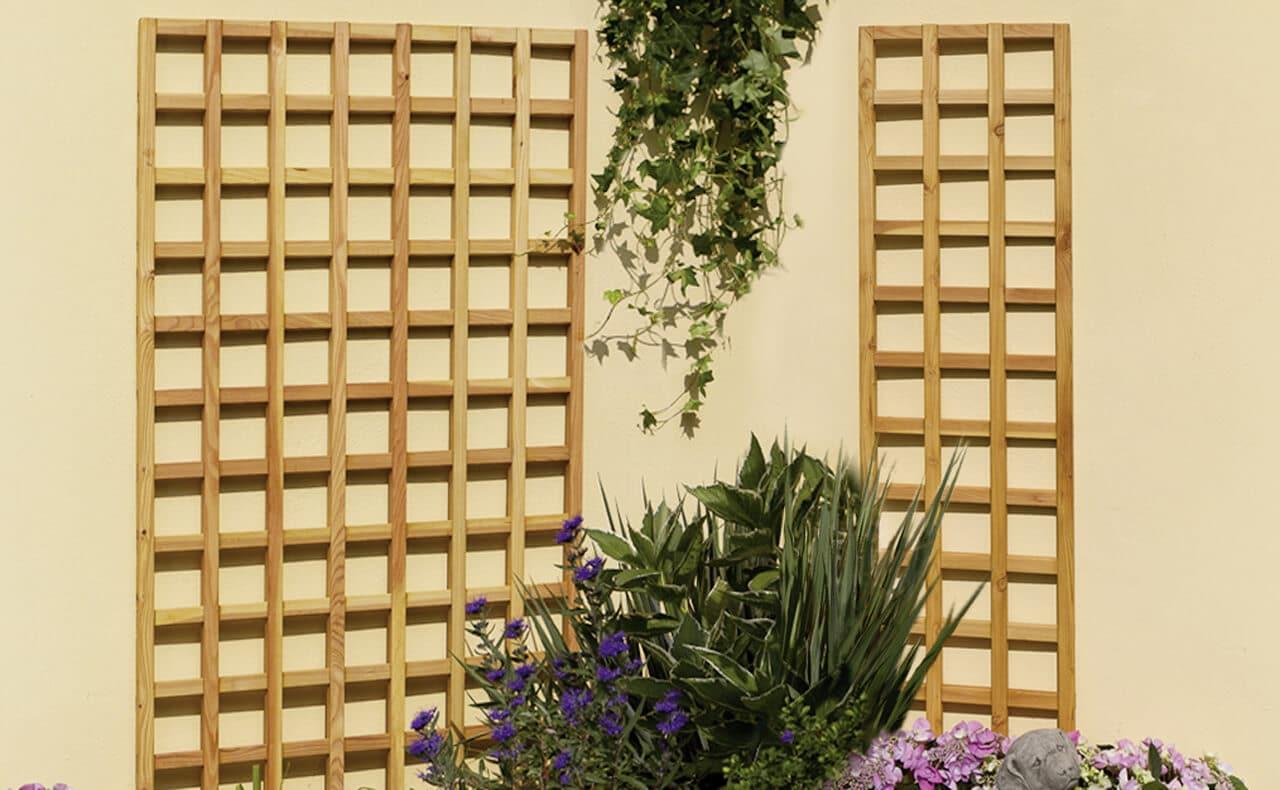 Rankgitter Holzland Dostler Holz Fur Bau Ausbau Und Garten