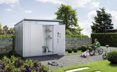 gartenh user und ger tehauser aus metall holzland dostler. Black Bedroom Furniture Sets. Home Design Ideas