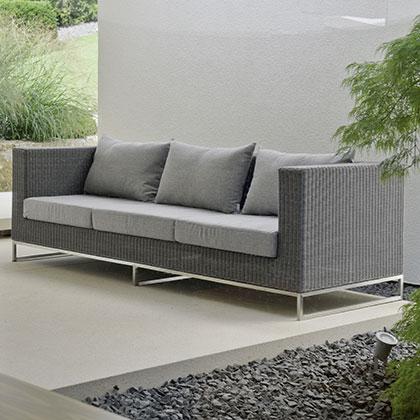 Fabulous Fontana Lounge 3-Sitzer Sofa - Holzland Dostler - Holz für Bau AK03