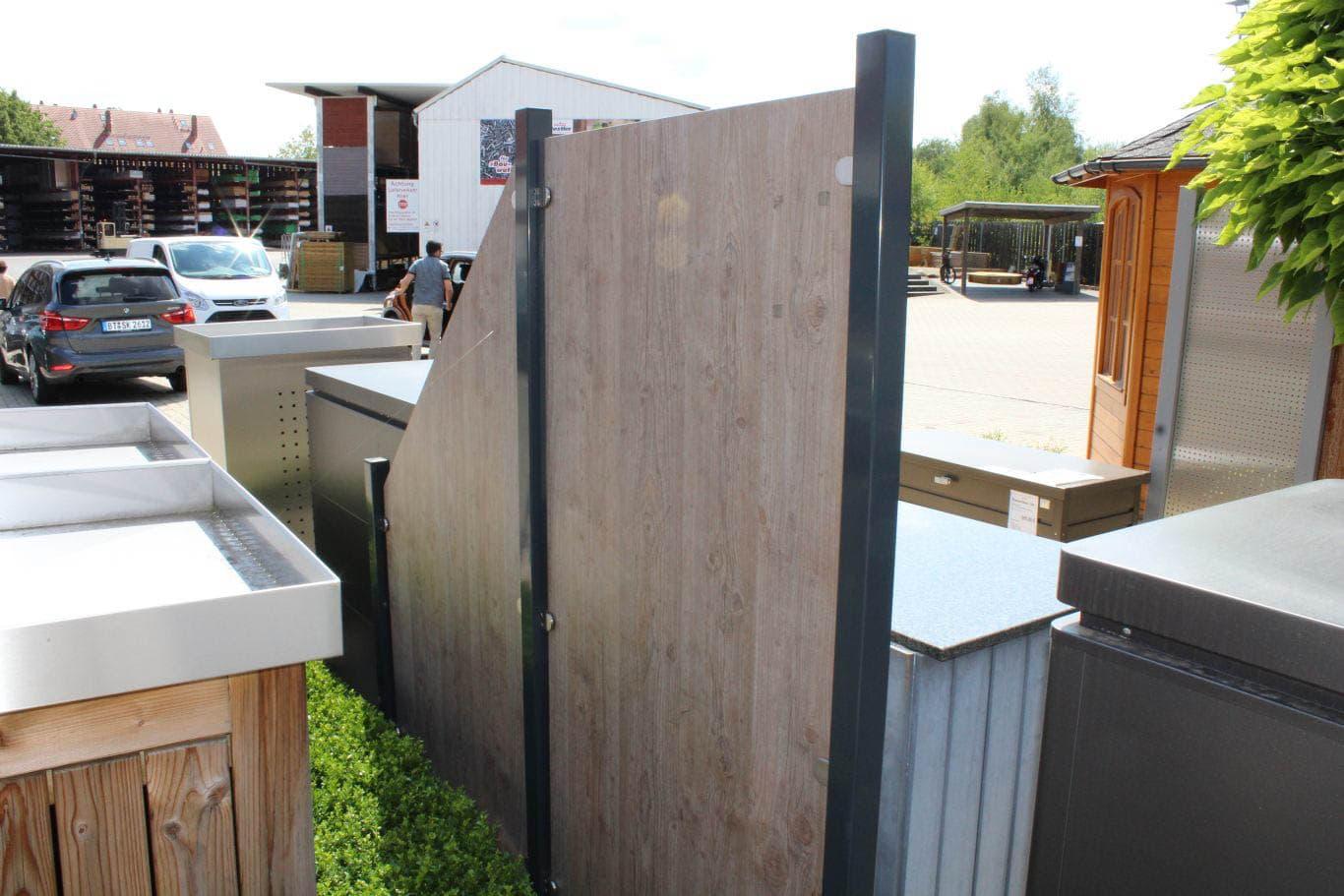 Sichtschutzzaun Groja Holzland Dostler Holz Fur Bau Ausbau