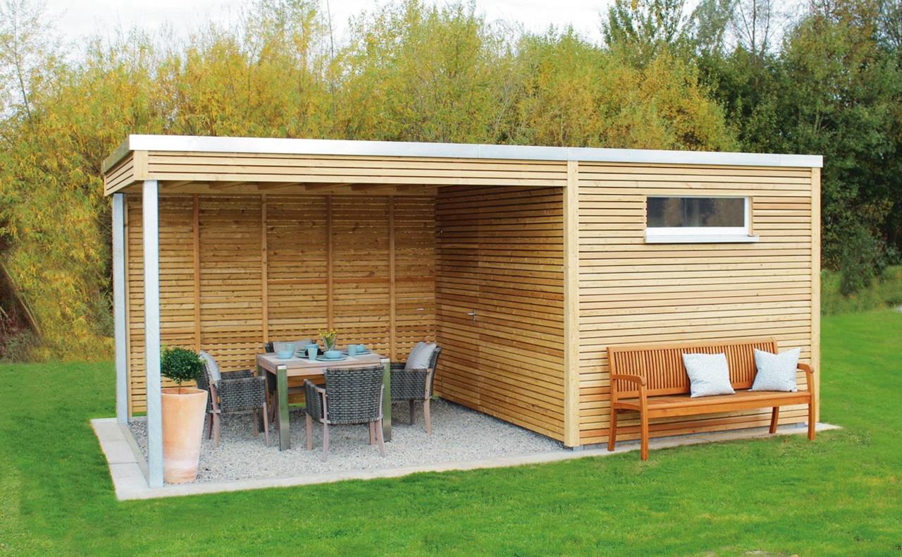 Gartenhäuser und Gerätehauser aus Holz - Holzland Dostler ...