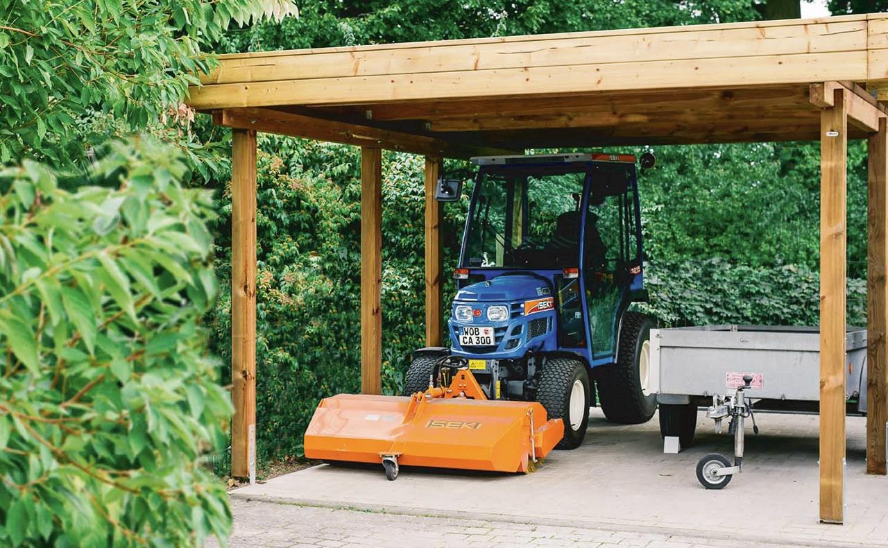 Carports - Holzland Dostler - Holz für Bau, Ausbau und Garten